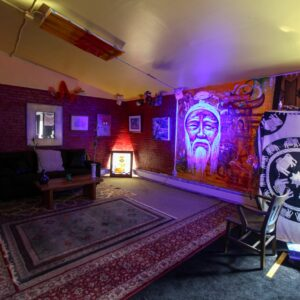 Chinese Mural LOUNGE - Dark City Studios