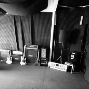 Recording Equipment at Dark City Studios